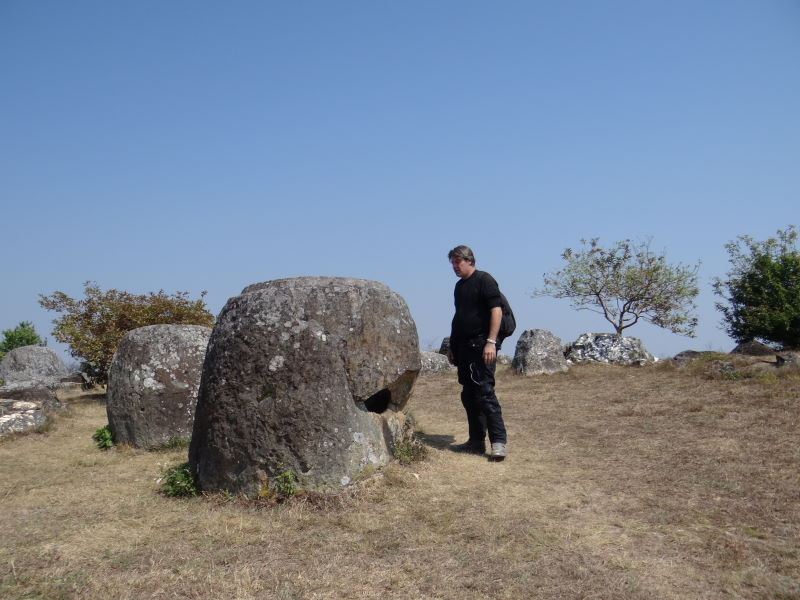 Plain of Jars, close to Phonsavan