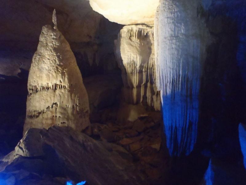 Tham Kong Lo is a karst limestone cave...