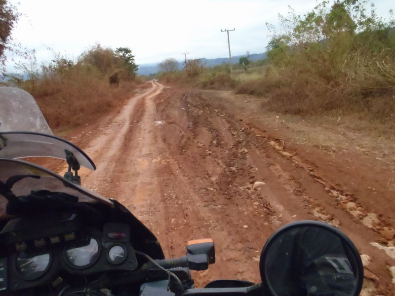 bumpy and dusty roads