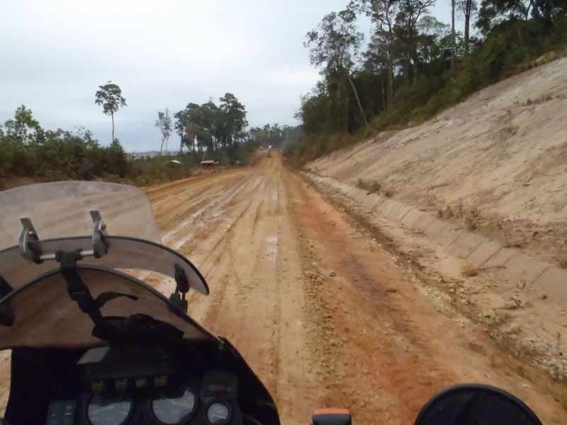 Dam road...