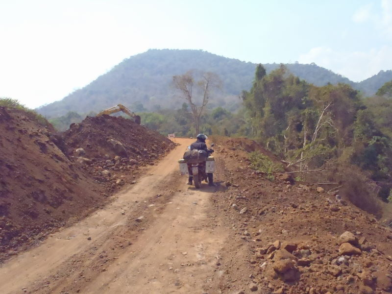 Bolaven Plateau dirt ride