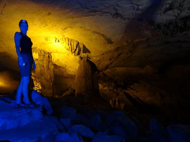 spooky limestone formations