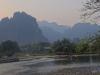 ...nestled beside the Nam Song (Song River) amid stunningly beautiful limestone karst terrain