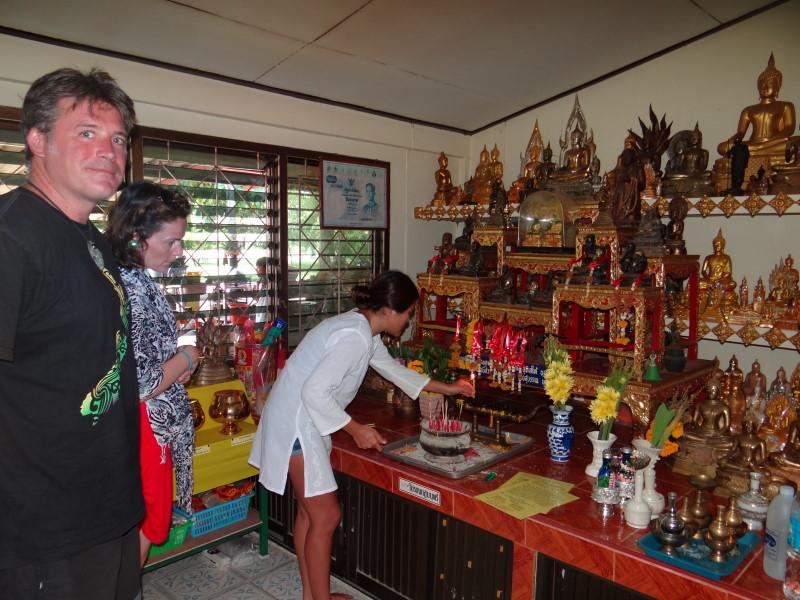 Phuket - tempel visit