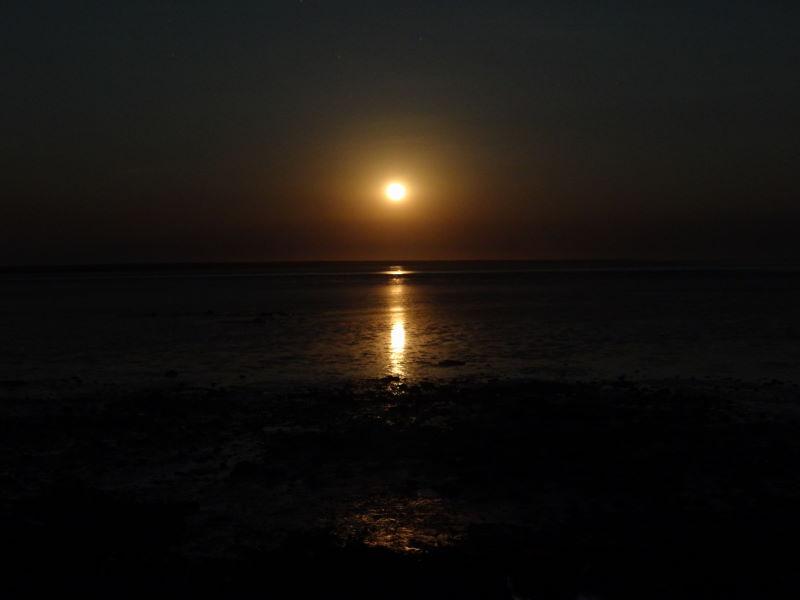 full moon at Broome