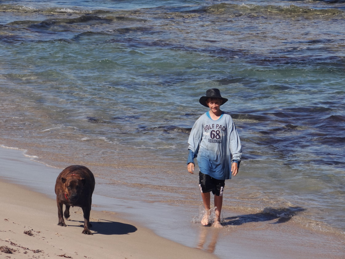 Cody and Rex, Coronation Beach