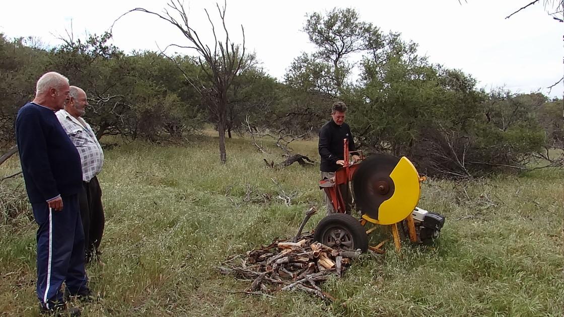 getting fire wood