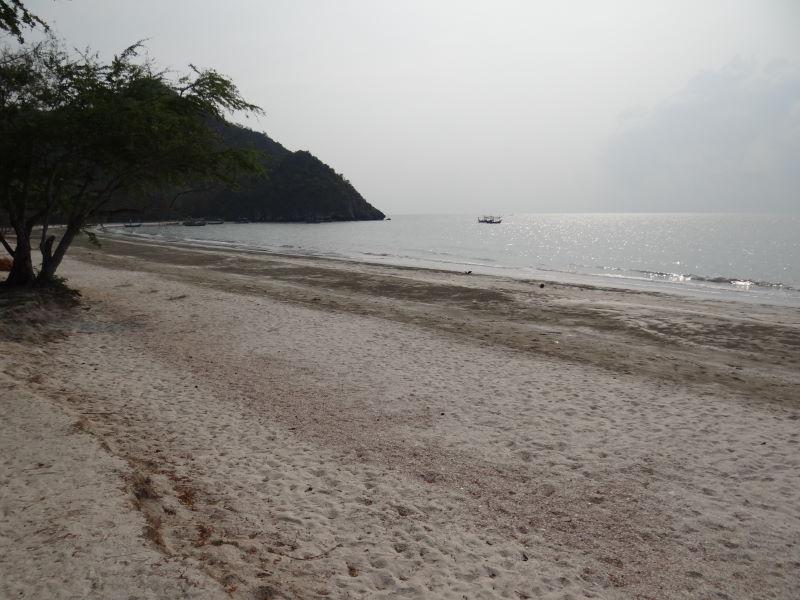 ... and an endless beach