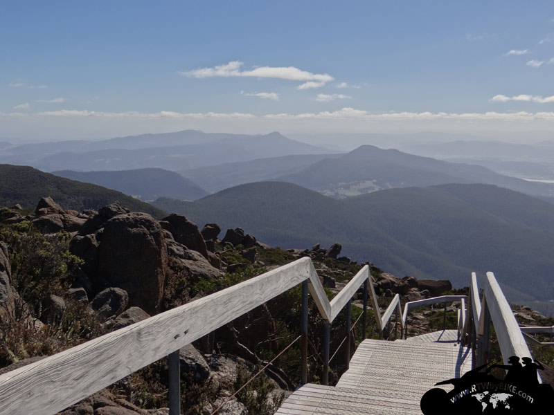 Mt Wellington - view to the east