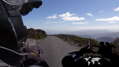 Mt Wellington - ride with great views