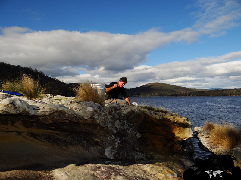 Randalls Bay on a sunny day