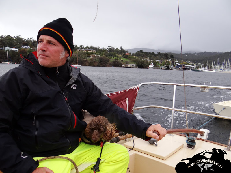 Ahoi Captain ahaoi! engine test of Mac´s sailing boat