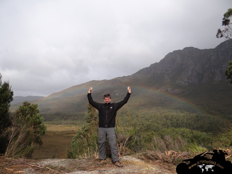 Catching the rainbow - Gordon River Rd
