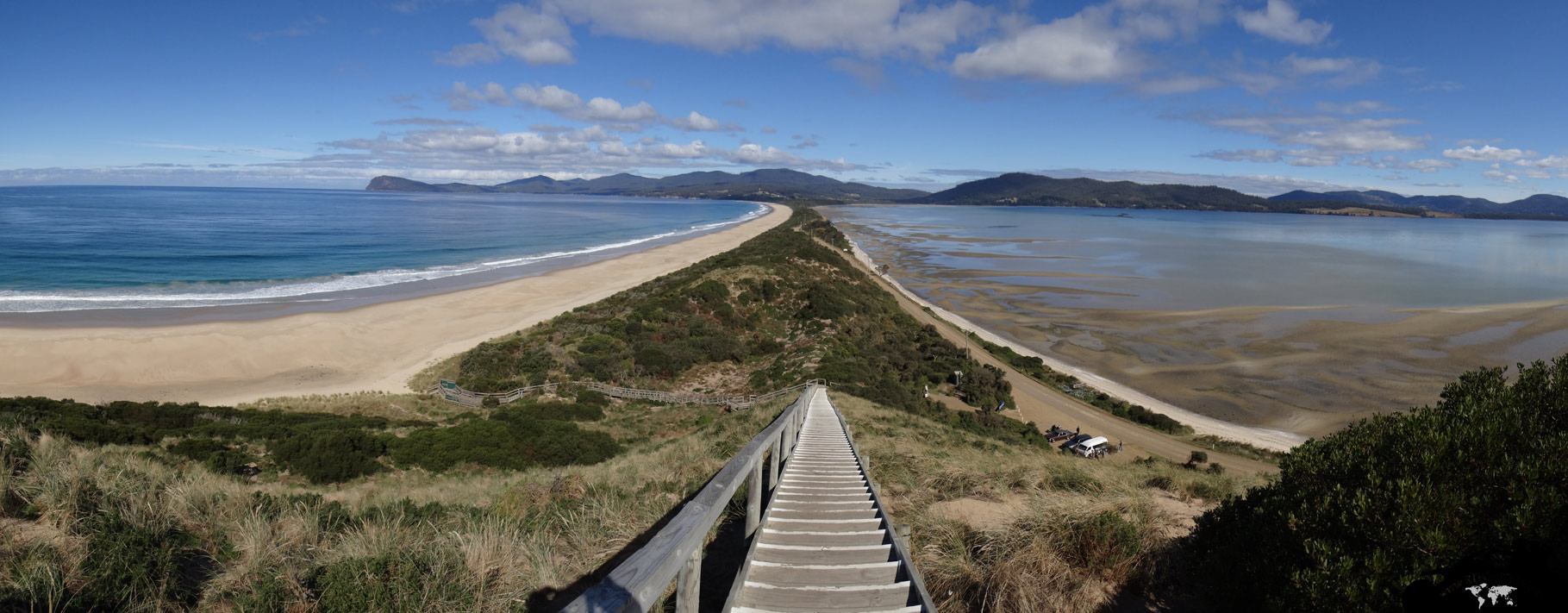 "Bruny Island - ""The Neck\"""