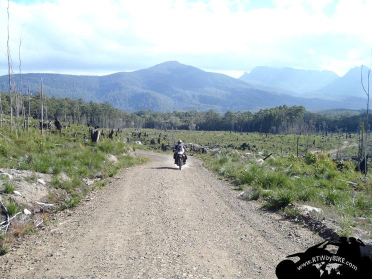 in da mountains
