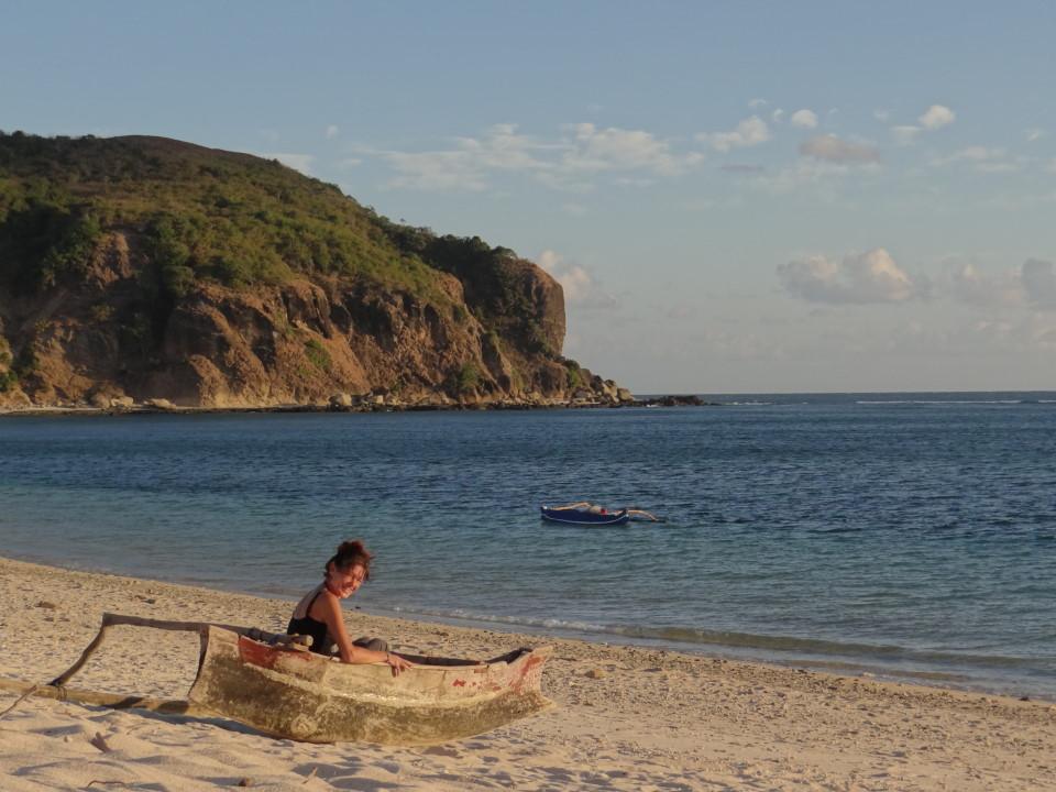 Lombok - Kuta, sailing away