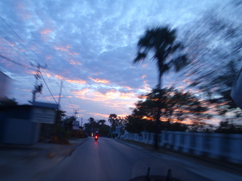 Arrival in Kupang, West Timor, at 5 AM