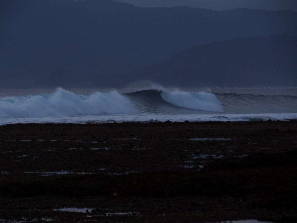 Sumbawa - Hu´u, Surfer beach