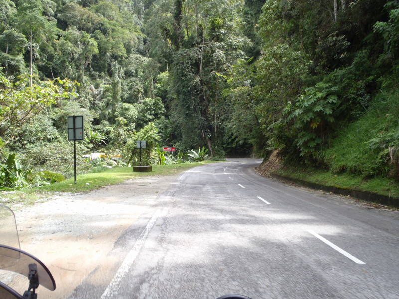 Cameron Highlands -leaving direction south
