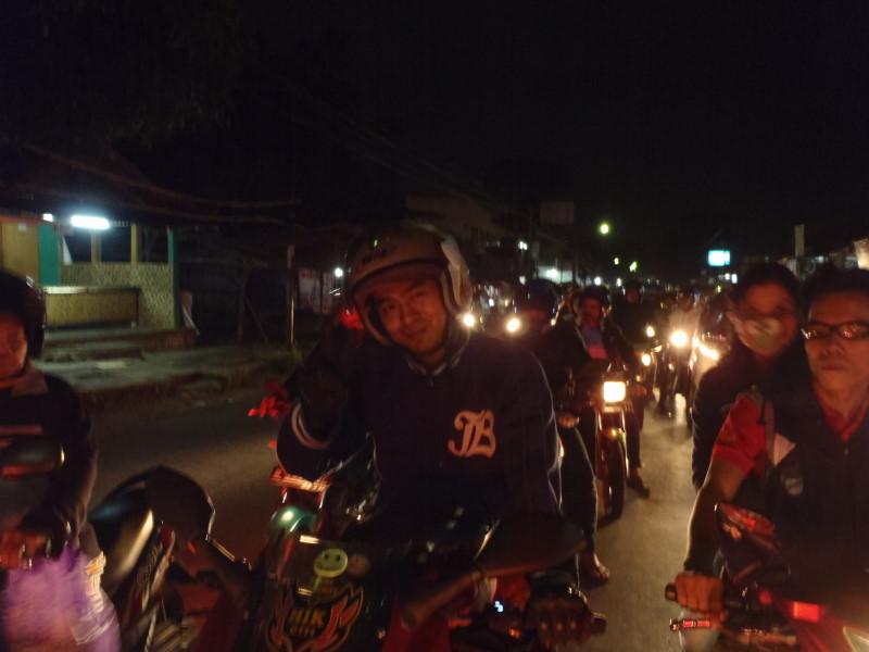 the HTML-member of Tangerang welcoming us