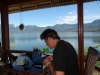 Lake Maninjau - working time