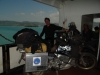 on the ferry from Sumatra to Java