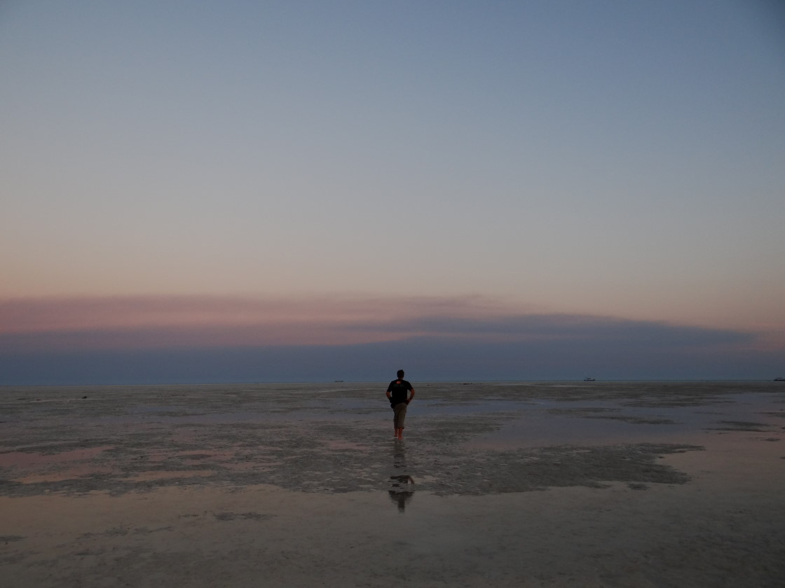low tide in Broome