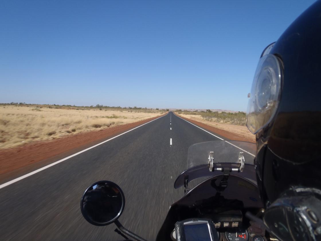 Highway direction Karijini