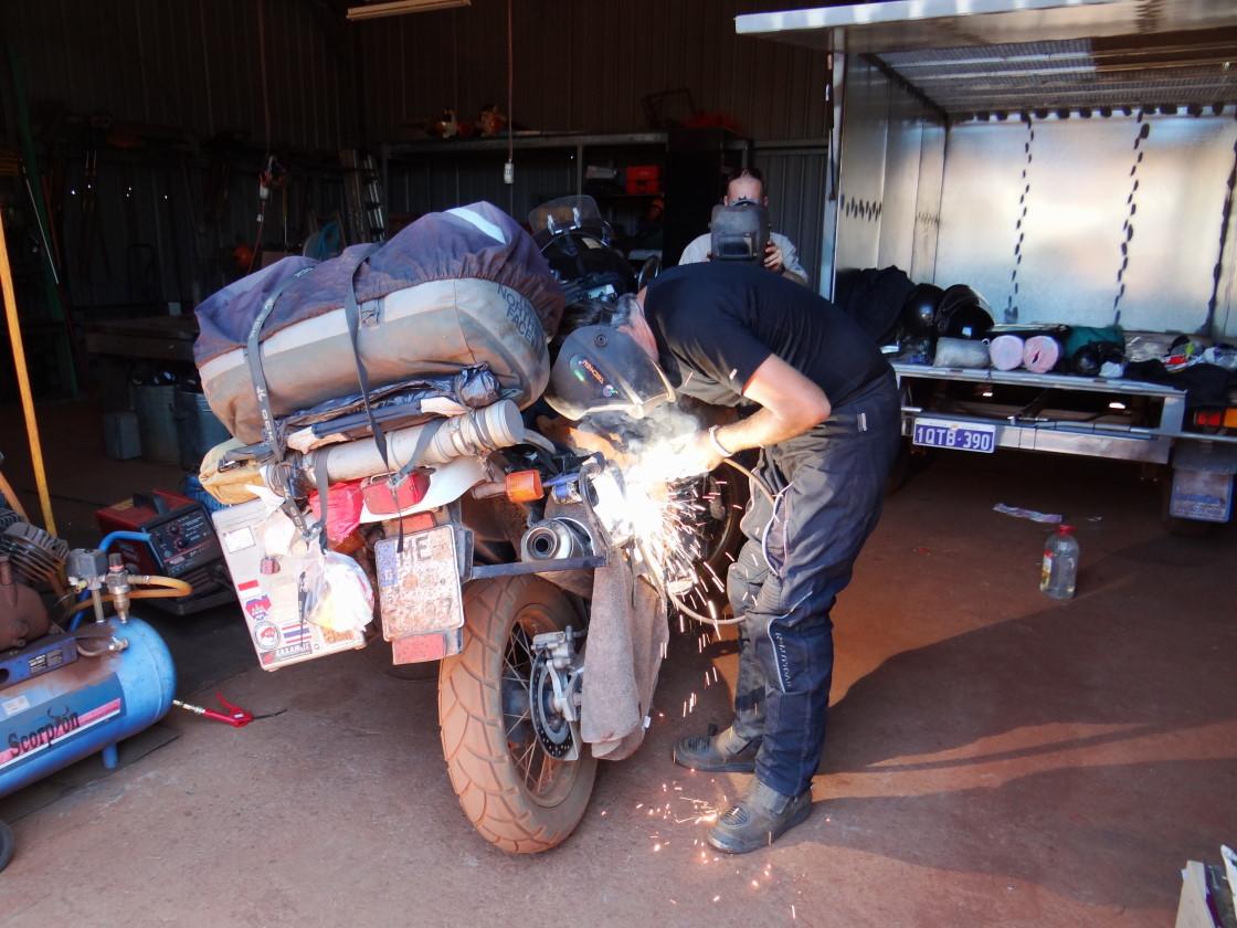 Sascha becomes a welder