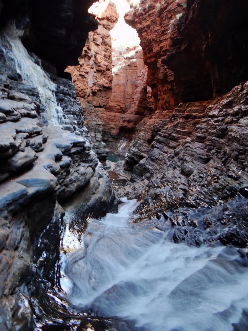 Hangock Gorge, Karijini