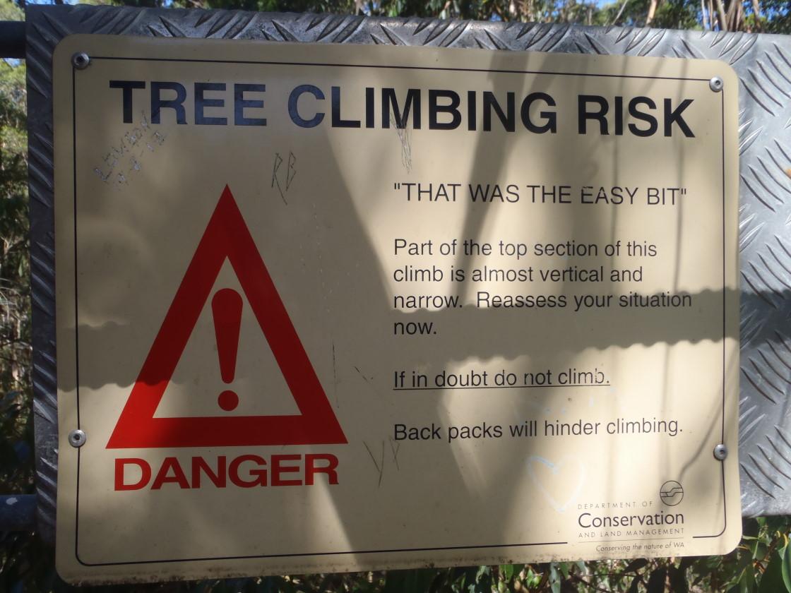 half way warning