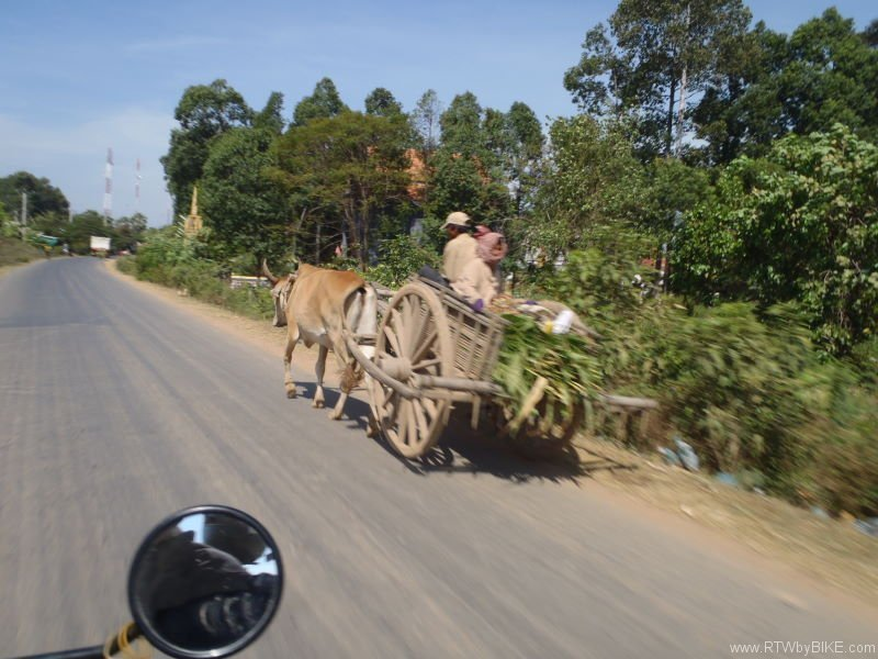 Villages of the Mekong, on the way to Kampong Cham