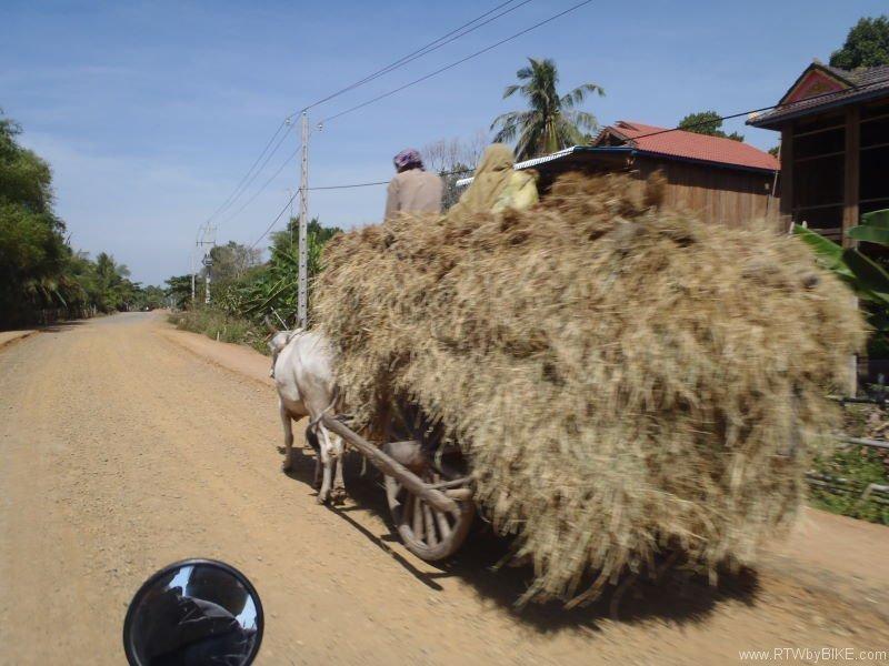 on the way to Kampong Cham
