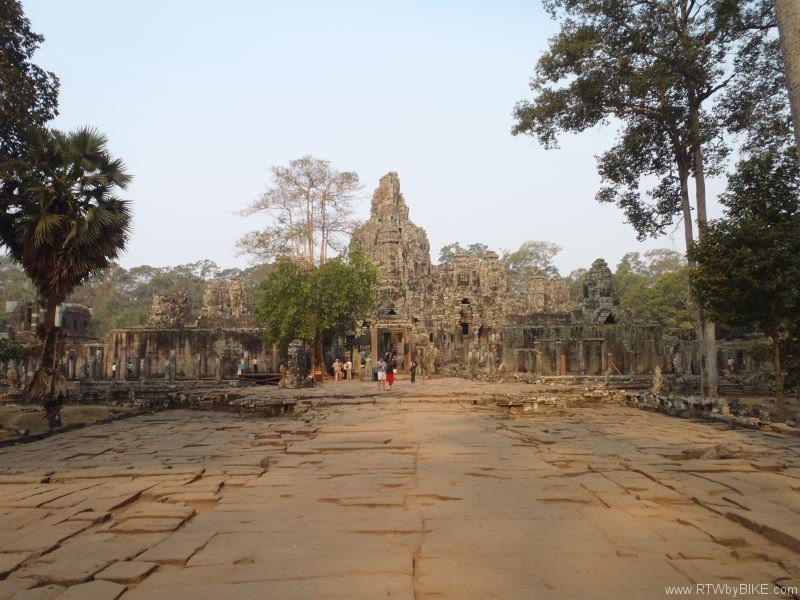 Angkor is one of the largest archaeological sites in operation in the world
