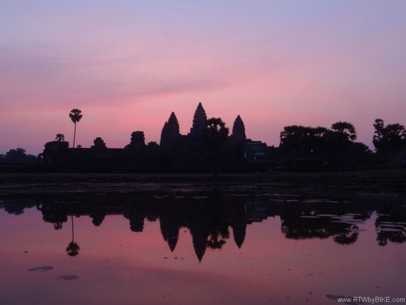 Angkor Wat is the largest first Hindu, and then Buddhist temple complex and the largest religious monument in the world