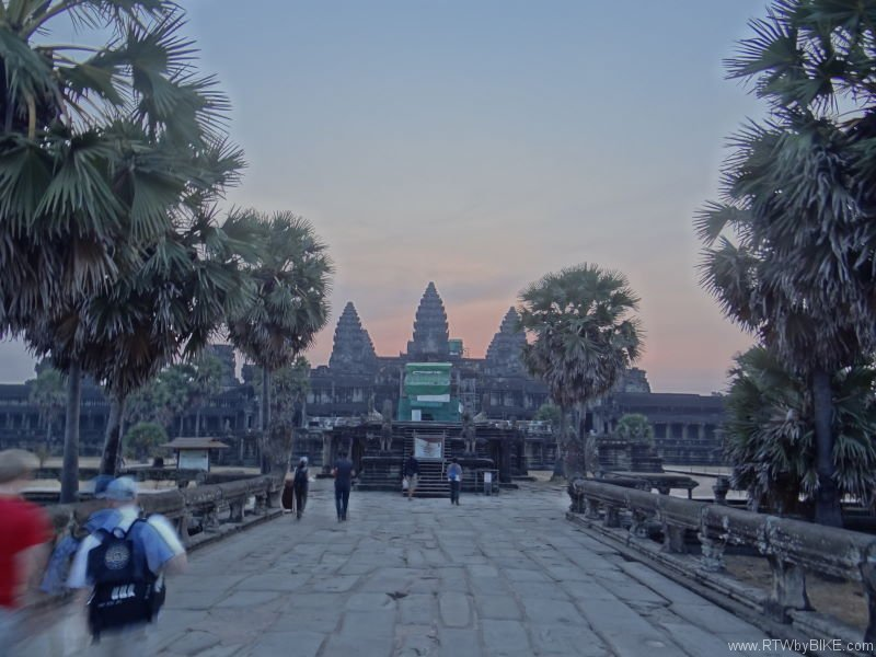 "The modern name, Angkor Wat, means ""Temple City\"" or \""City of Temples\"""