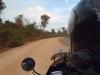 first kilometers in Cambodia
