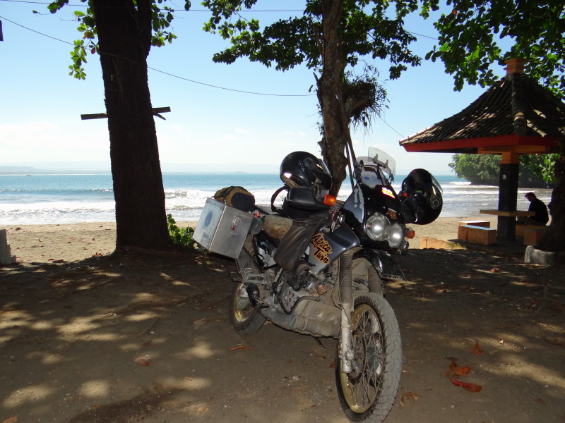 Pangandaran is a large fishing village