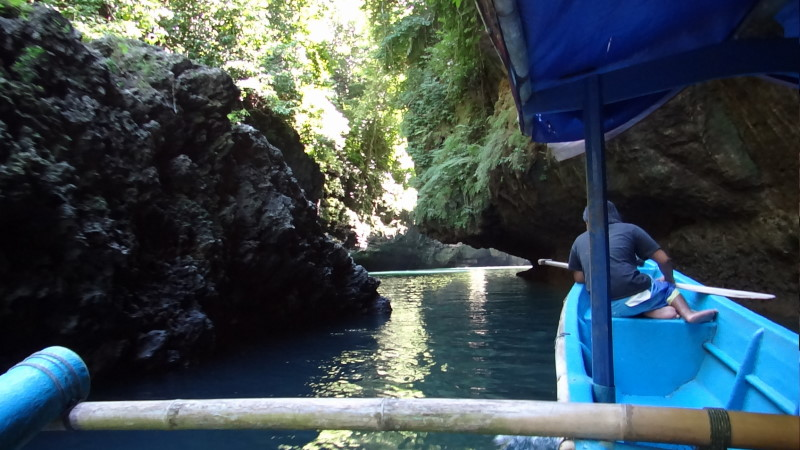 Green Canyon boat trip