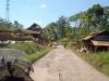 passing villages...