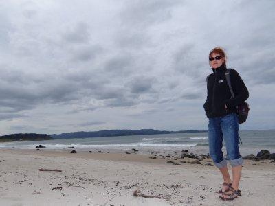 Tawharanui Regional Park, beach walk