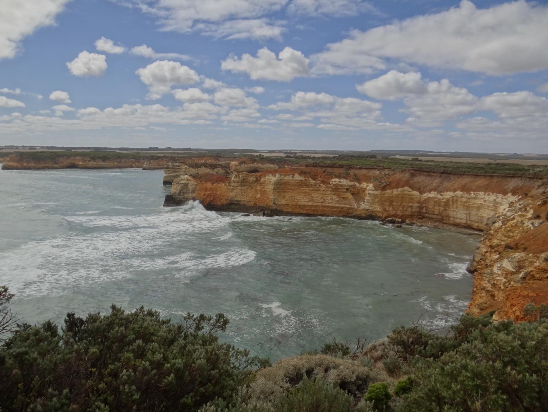 a coast line... Great Ocean Road
