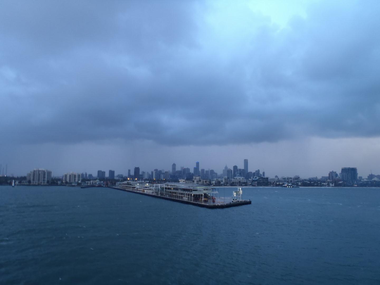 dark Melbourne
