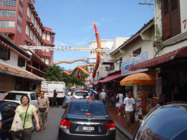 arrival in Malacca