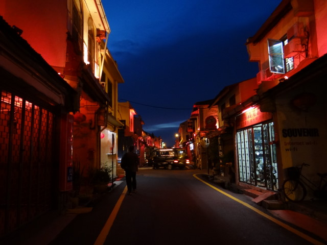 narrow  lanes, Malacca