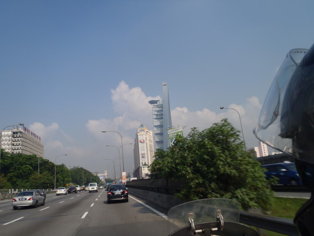 leaving KL direction Port Klang