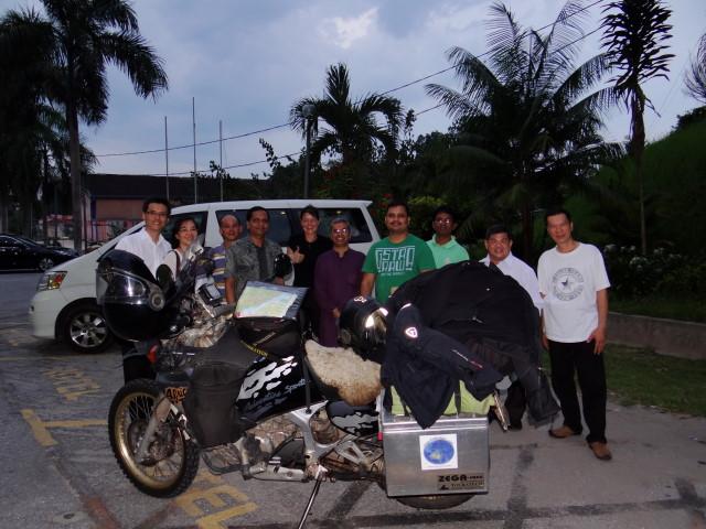 Kuala Lipis - nice welcoming