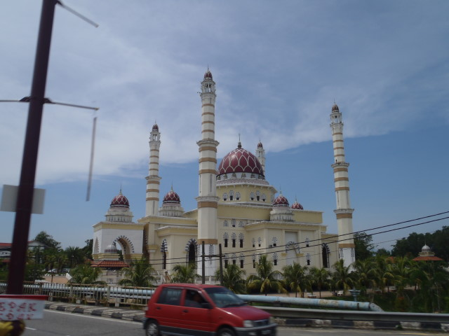 impressive mosques along the roads