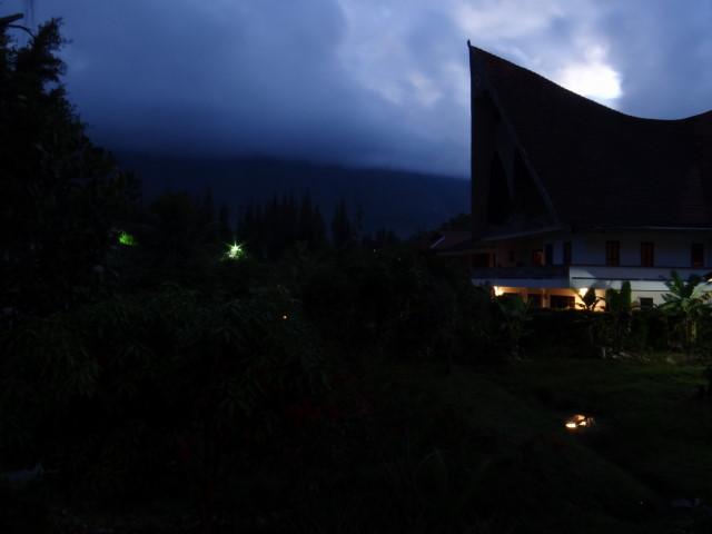 Village on Samosir isle, on Samosia isle, Danau Toba, Sumatraon Samosia isle, Danau Toba, Sumatra