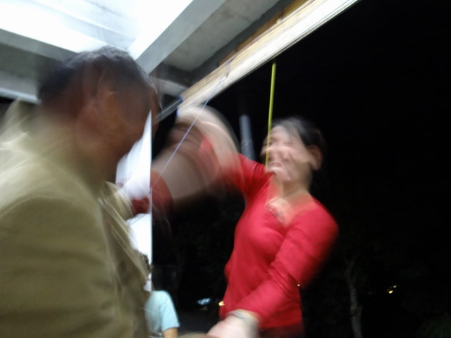 dancing, drinking...